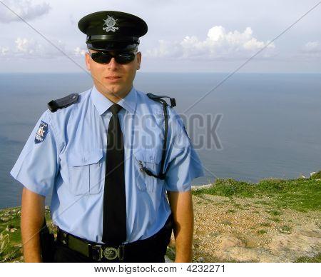Malta Police Officer