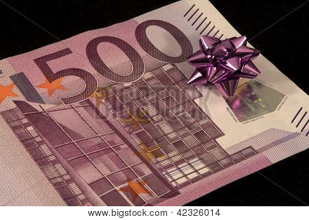 banknote of 500