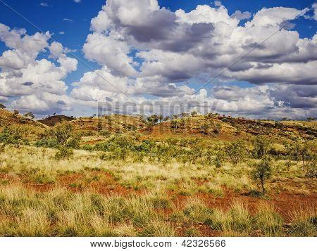 The beautiful Karijini National Park in Australia