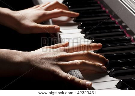Hand Of A Pianist