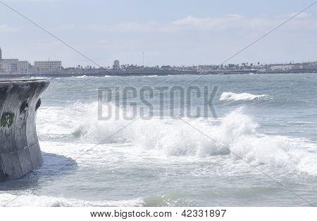 Ocean Waves at Casablanca