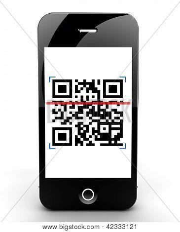 Smartphone Scanning Code