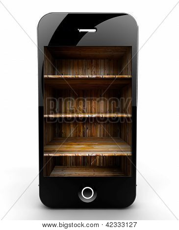 Smartphone With Shelf