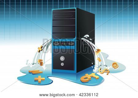 Concepto de pérdidas de datos