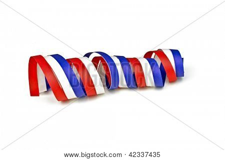 Serpentine curl from the dutch national flag
