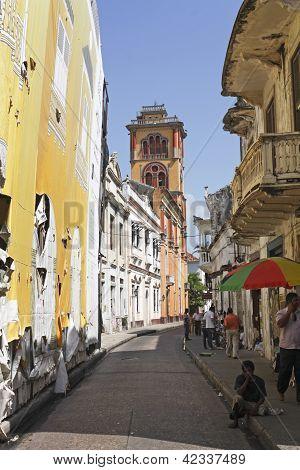 Cartagena de Indias Straße