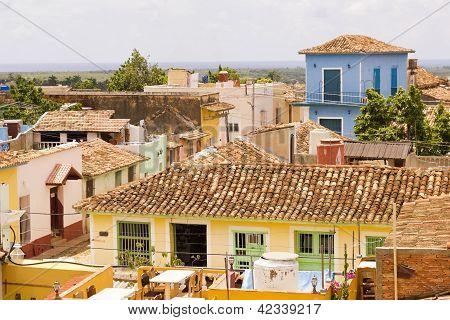 City Of Trinidad In Cuba