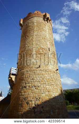 Bastille in medieval town