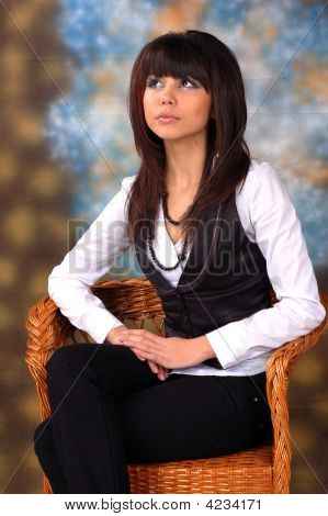 Portrait Of Sophisticated Lady