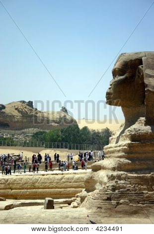 Visiting The Sphinx
