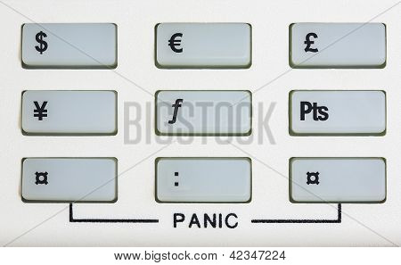 Currency Keypad With Panic Keys