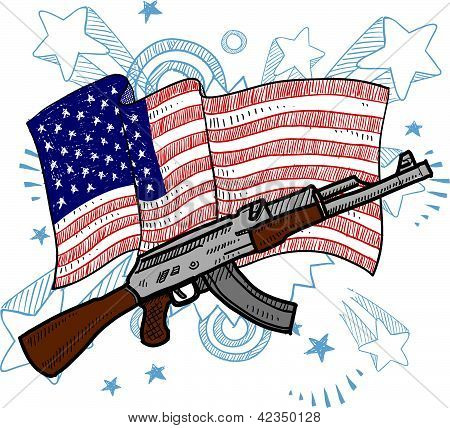 America loves assault weapons