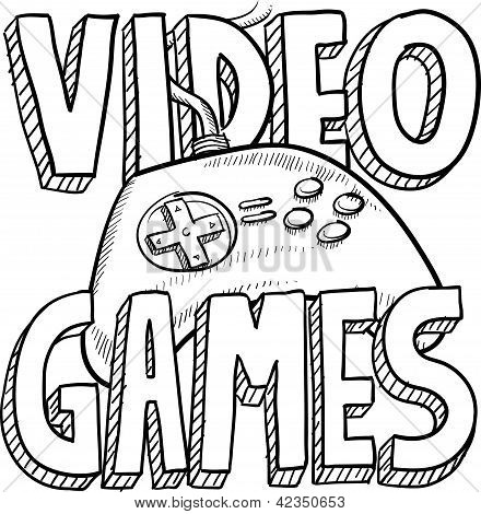 Video game sketch