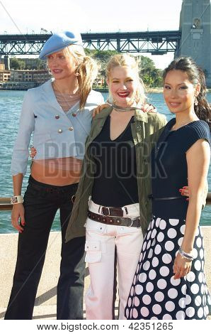 Cameron Diaz, Drew Barrymore and Lucy Liu