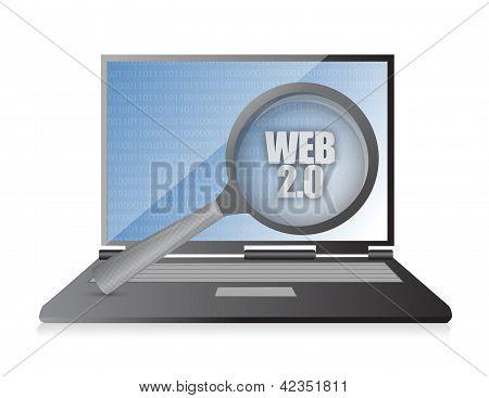 Web Laptop Magnify