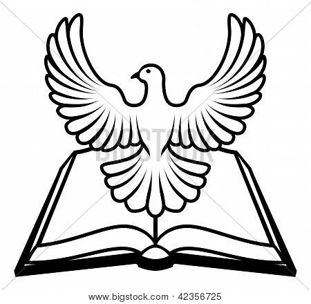 Bible Holy Spirit Concept