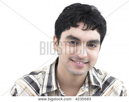 A Handsome Asian Male Of Indian Origin