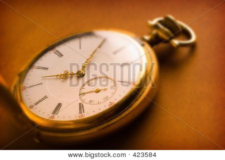 Antique Gold Pocket Watch