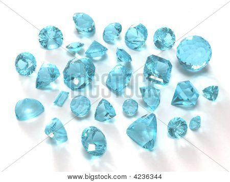 Sky Blue Topaz Gems