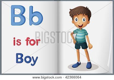 Hoja de trabajo de alfabeto para la letra B