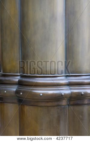 Bronze Painted Column'S