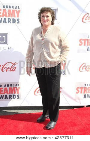LOS ANGELES - FEB 17: Dot Marie Jones at the 3rd Annual Streamy Awards at the Hollywood Palladium on February 17, 2013 in Los Angeles, California