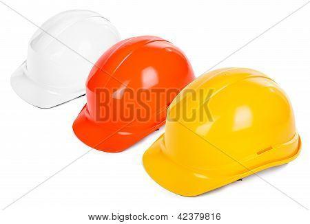 Three Hard Hats