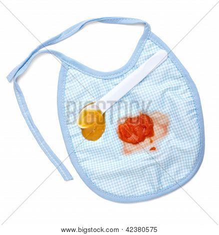 Baby Food Bib Feeding Stain