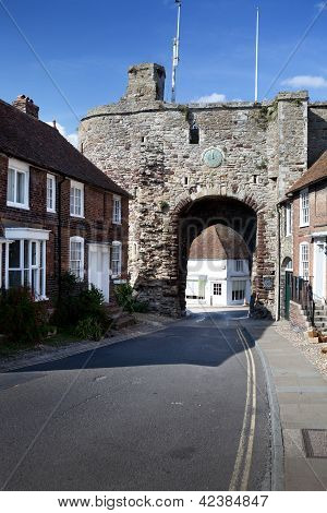City Wall Gate Rye England