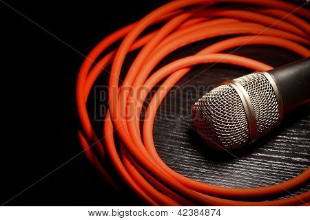 Microphone And Whire