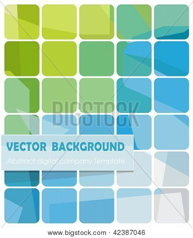 Abstract technology vector design. High-tech digital background. Color illustration.