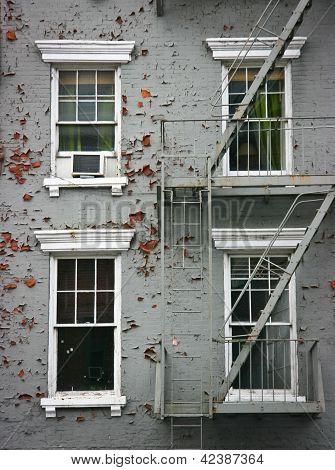 Four White Windows