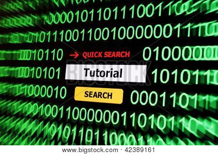 Search For Tutorial