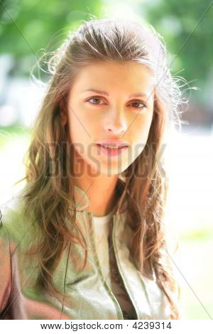 Girl With Long Hairs