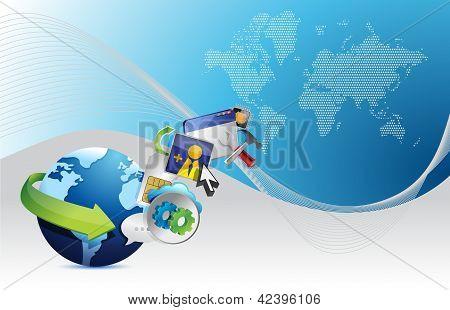 Aplicações globais