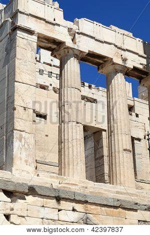 Fragment Of Propylaea Of The Athenian Acropolis