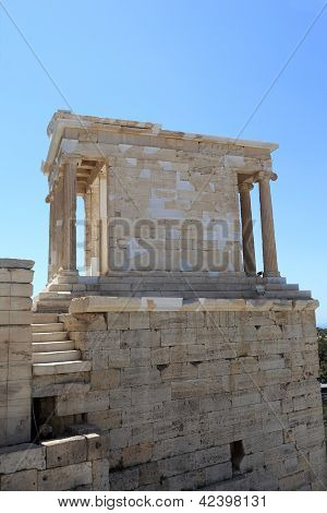 Side Of Temple Of Athena Nike
