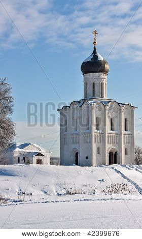 Church Of The Intercession On The Nerl, Russia
