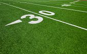 foto of ncaa  - thirty yard line  - JPG