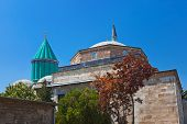 stock photo of rumi  - Mevlana Museum and Mausoleum  - JPG