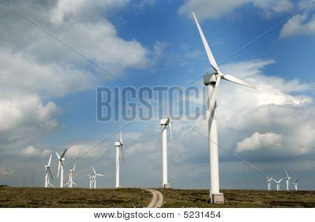 Wind Turbines Or Windmills