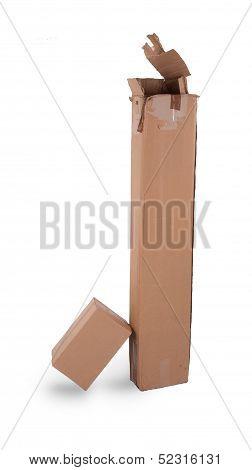 Brown Color Cardbox