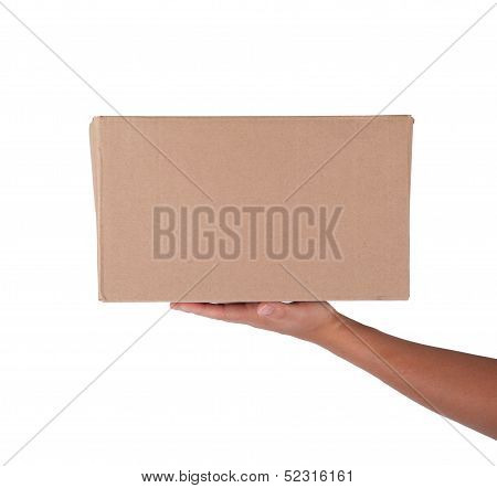 Brown Color Cardbox