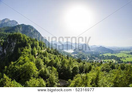 Surrounding Of Neuschwanstein Castle