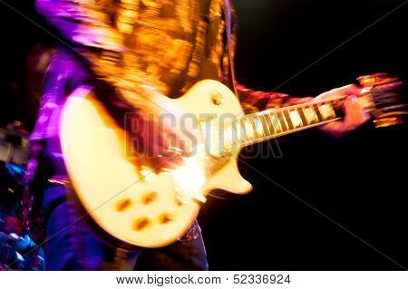 Glam Rock Guitarist