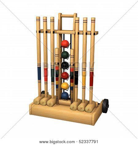 Croquet Stand
