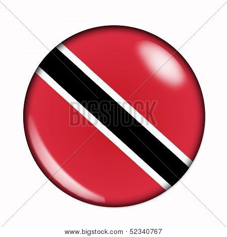 Button Flag Of Trinidad And Tobago