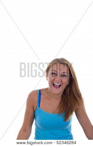 Cheerfull Girl