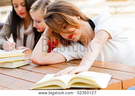 Girl Had Enough Of Book