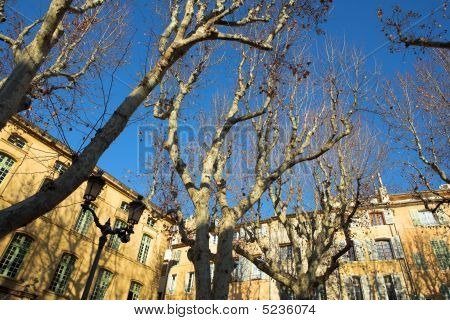 Buildings In Aix-en-provence